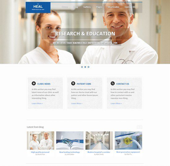 Heal-Responsive-Medical-and-Health-HTML-Template