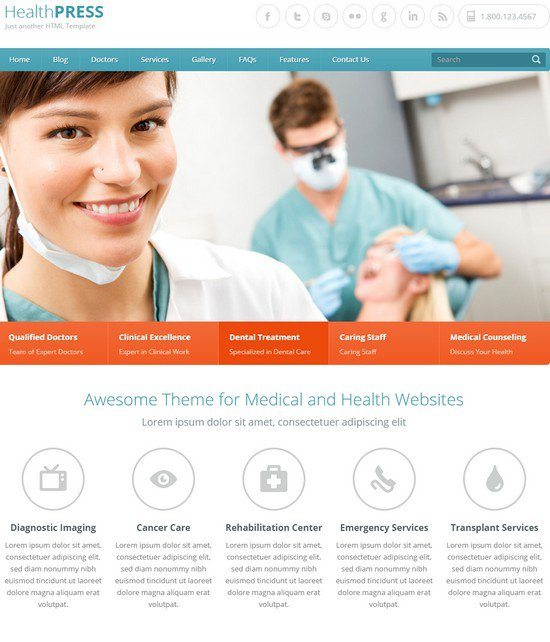 HealthPress-Health-and-Medical-HTML-Template