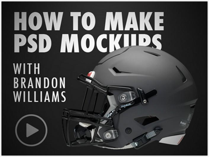 Helmet PSD Mockup