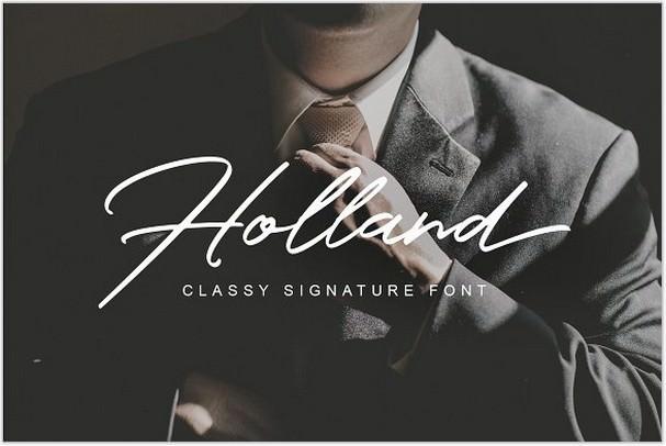 Holland Font