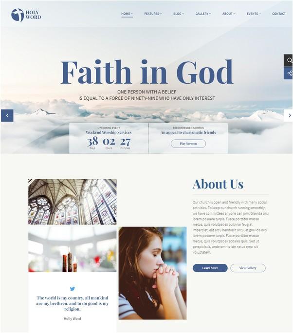 Holy Word - Church