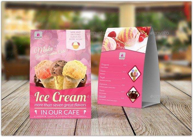 31 table tent card mockups psd templates templatefor