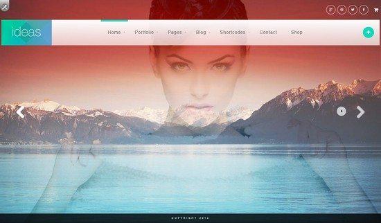 Ideas – Fullscreen Responsive WordPress Theme