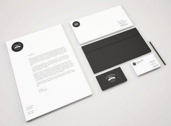 Identity Branding Stationery PSD Mockup