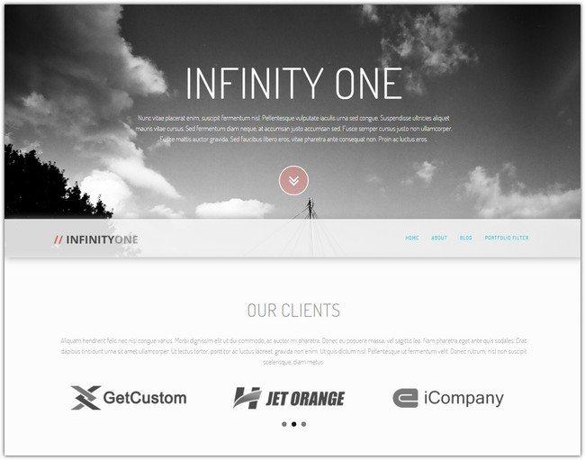 InfinityOne Creative & Responsive WordPress Theme