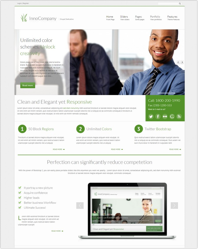 InnoCompany – Multipurpose Corporate Drupal theme