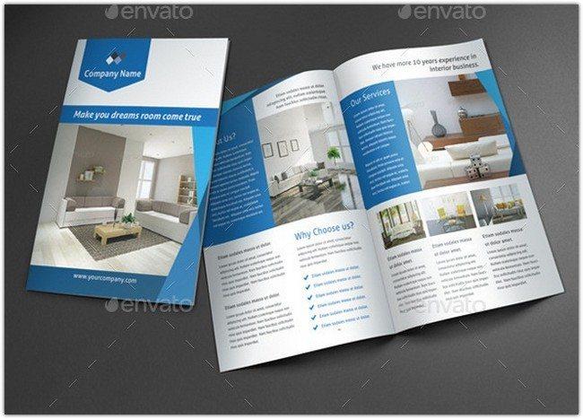 Interior Brochure Template