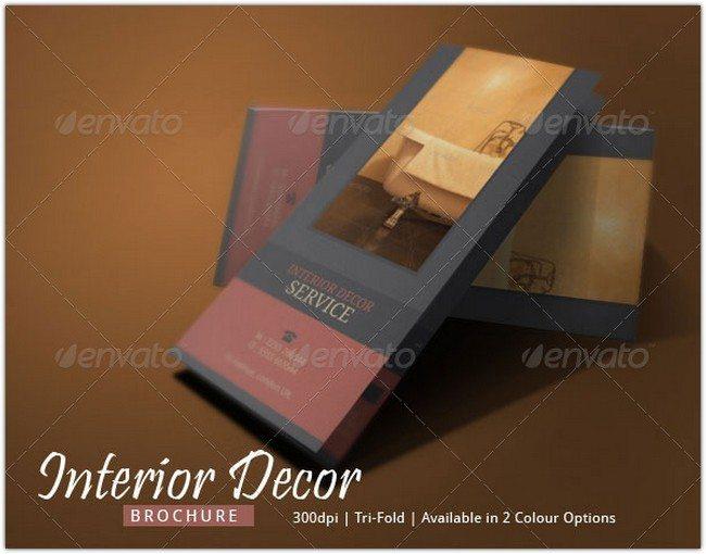 Interior Decor Brochure Design