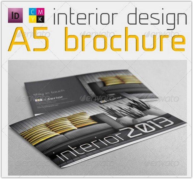 Interior Design A5 Brochure