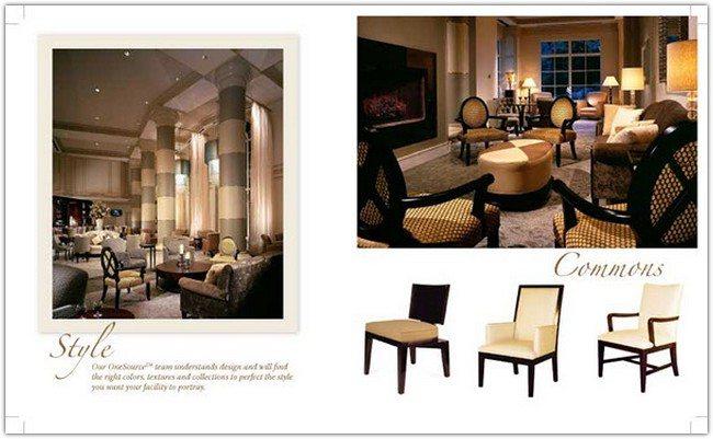 Interior Design Sales Brochure