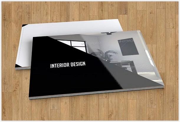 Interior Design brochure templateV17