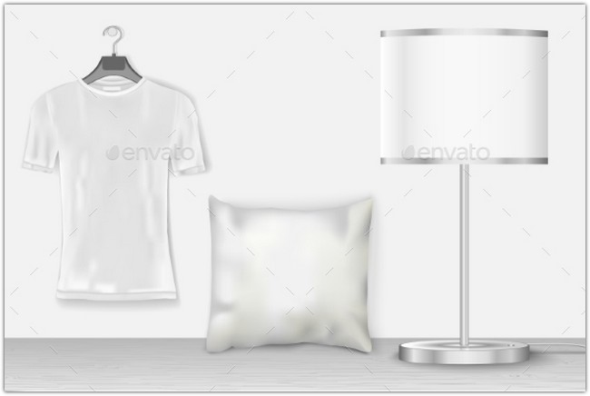 interior-mock-up-with-t-shirt