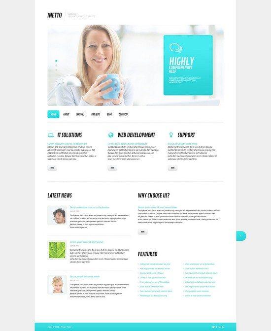 Internet Responsive WordPress Theme