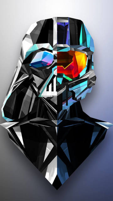 Iphone-Abstrac-Facets-Halo-Darth-Vader-454164