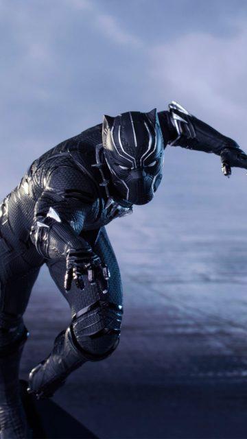 Iphone-X-captain-america-civil-war-black-panther-4k