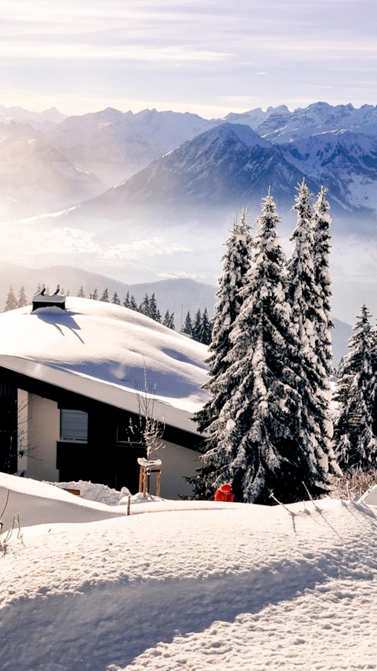 21 Stunning Snow Iphone Wallpapers Templatefor