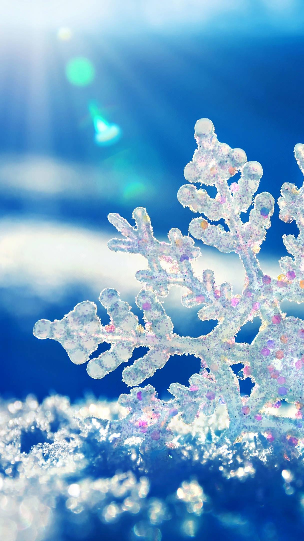 Superb Iphone Snow Snowflake. Iphone Snow Snowflake Winter Wallpaper