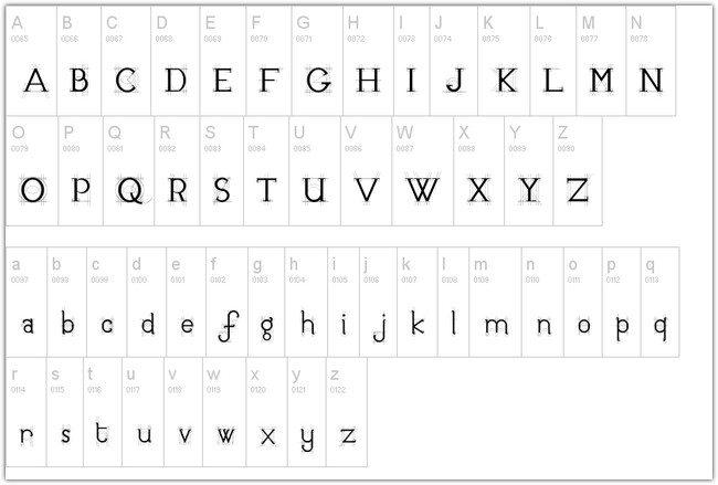 JB Etude Font