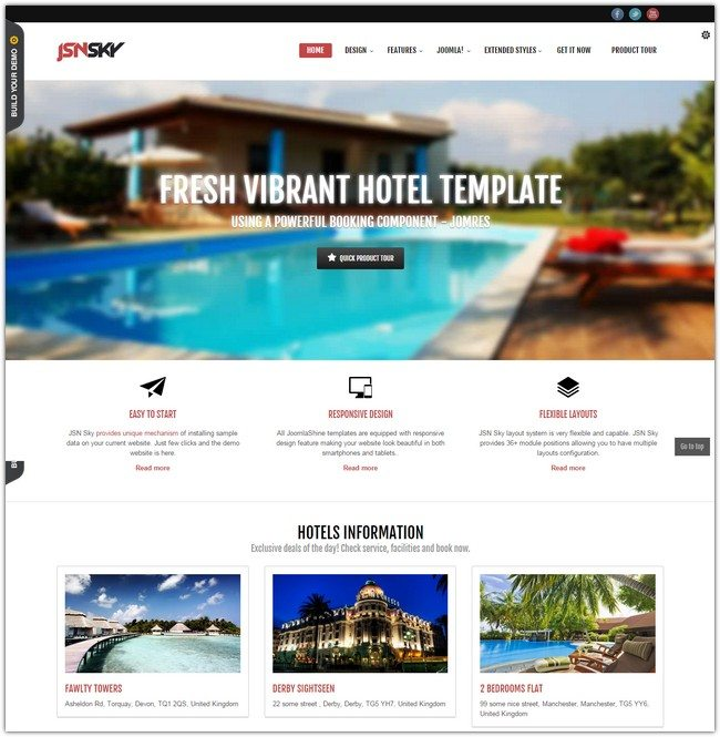 JSN Sky For your hotel