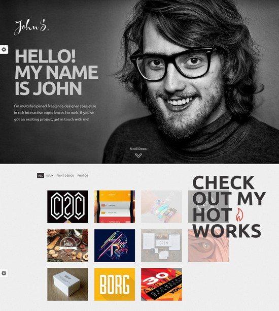 John WordPress Portfolio Theme