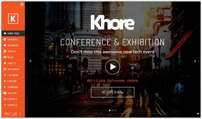 KHORE WordPress Theme
