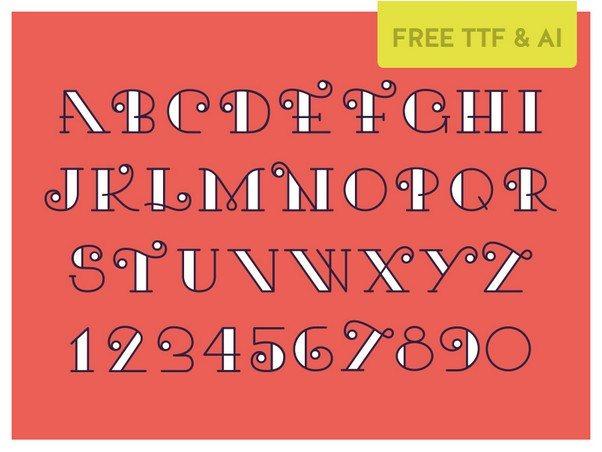 Kari Typeface