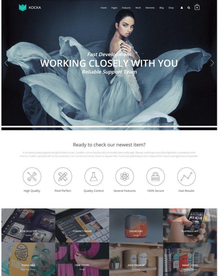 Kocka – Flexible and Powerful WordPress Theme