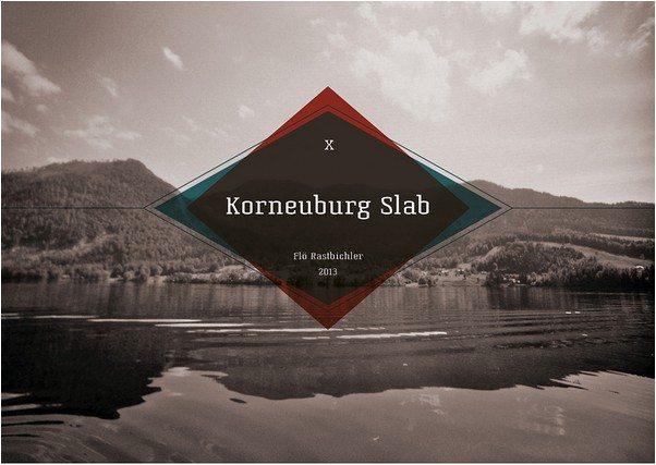 Korneuburg Slab Free Font
