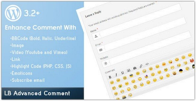LB Advanced Comment for WordPress