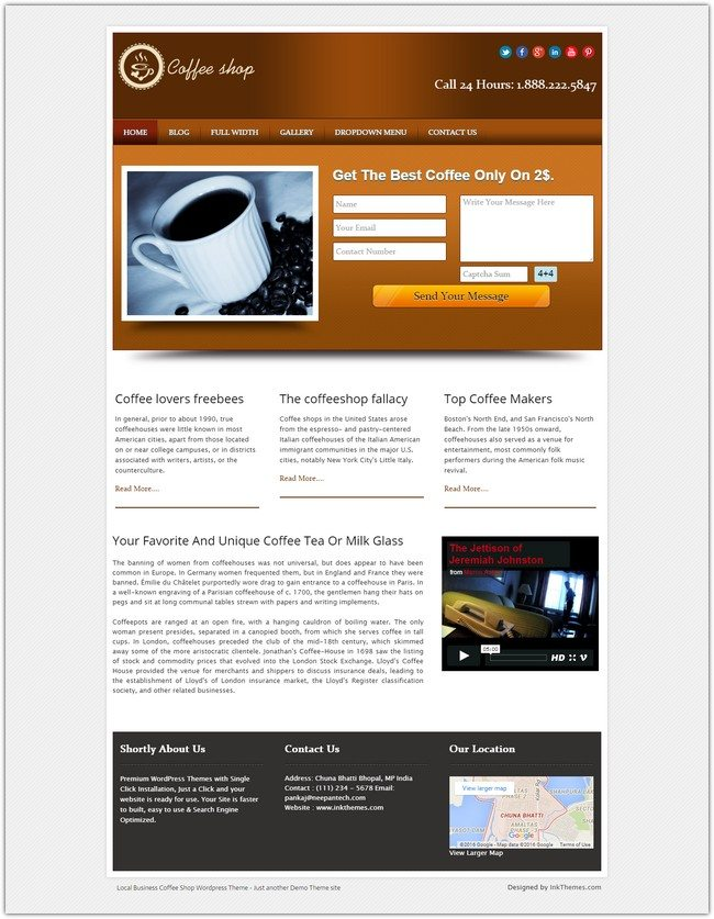 LOCAL BUSINESS WORDPRESS THEME WITH BUILT IN LEAD CAPTURE
