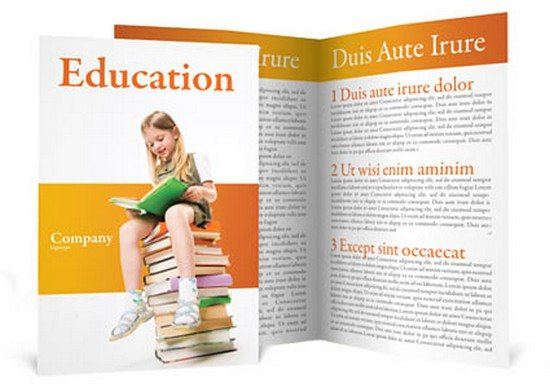 Learning Brochure Template