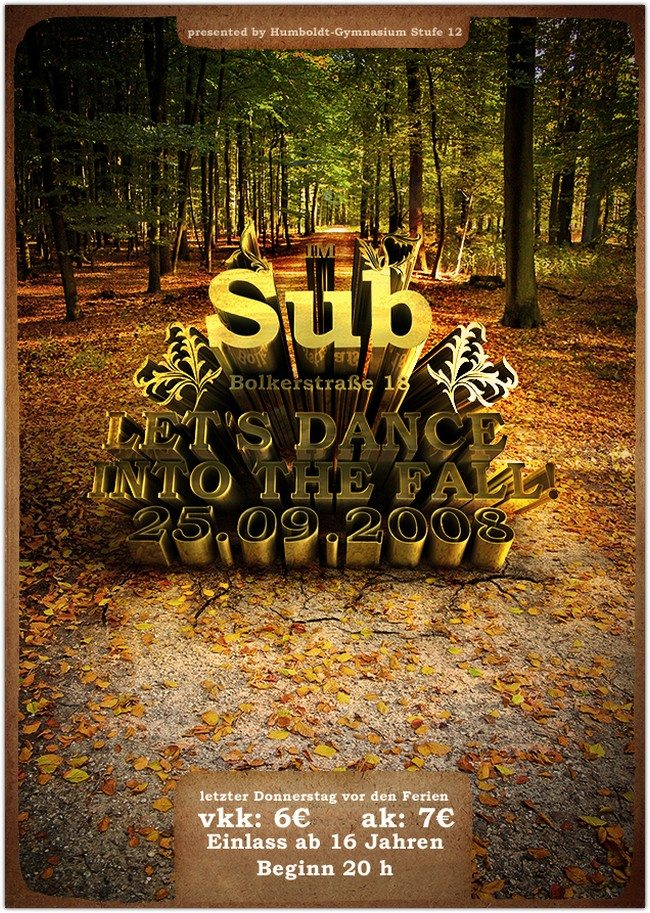 Let's Dance Into The Fall