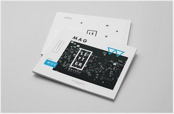 Letter Magazine Brochure