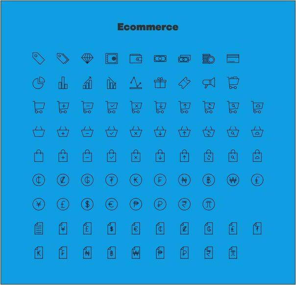 Linea Ecommerce Free Iconset