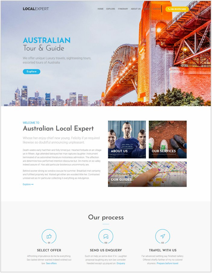 Local Expert - HTML Responsive Template