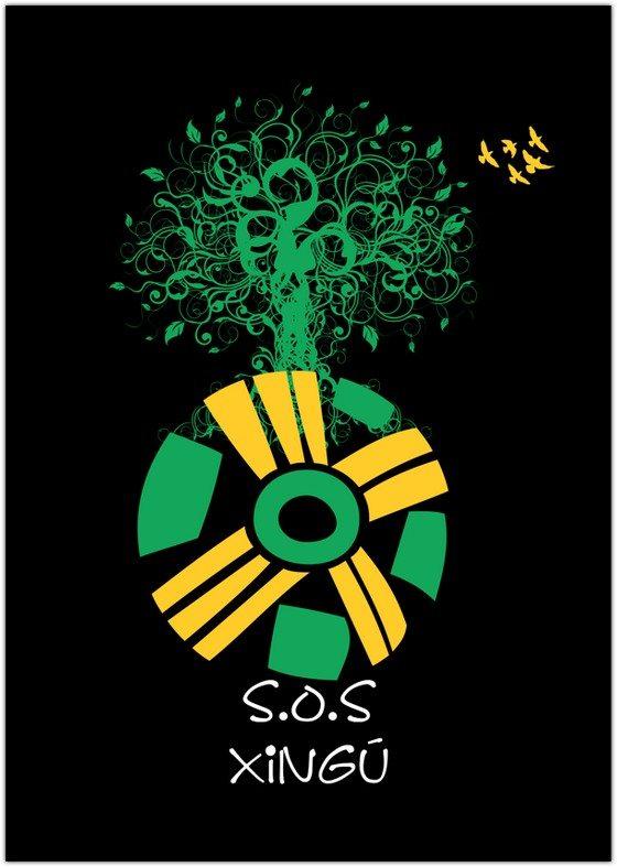 Logotipo S.O.S Xingú