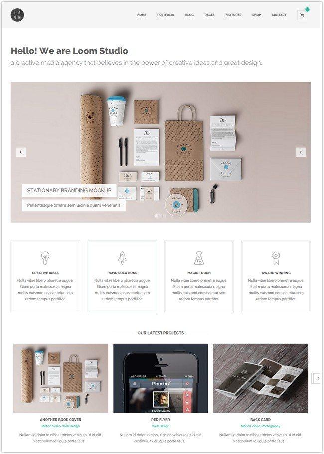 Loom - Multipurpose Responsive WordPress Theme