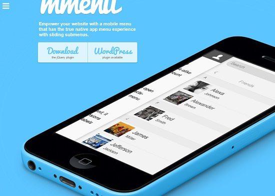 M-menu jQuery Plugin