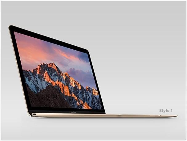 MacBook Retina Display Psd Mockup