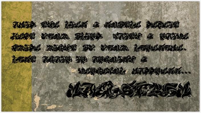 Maelstrom Font