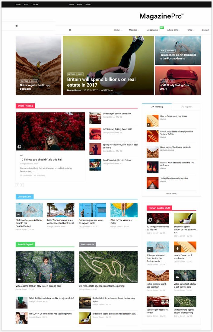 MagPlus - Magazine WordPress theme