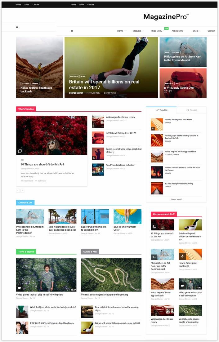 MagPlus - Magazine WordPress theme