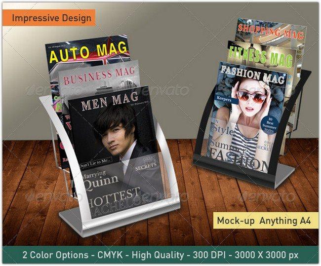 Magazine Brochure Mockup