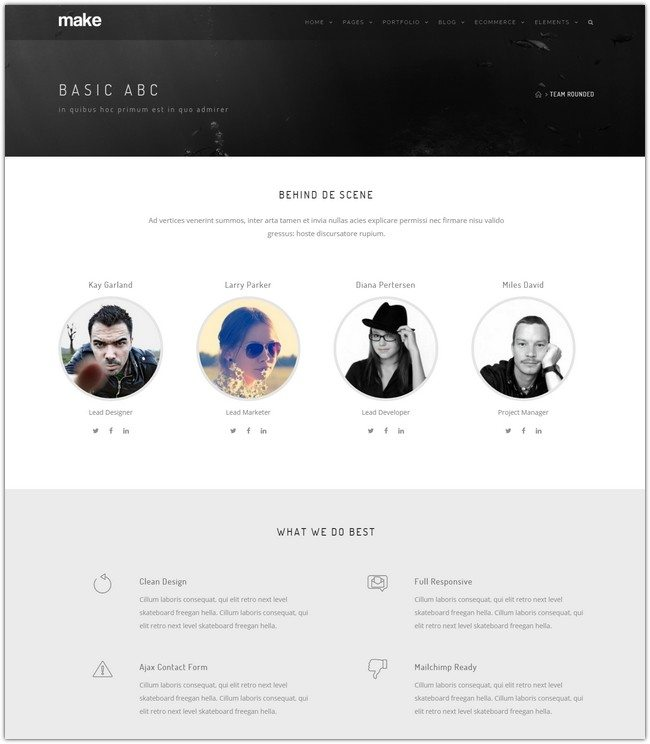 Make - Multipurpose One Multipage Drupal Theme