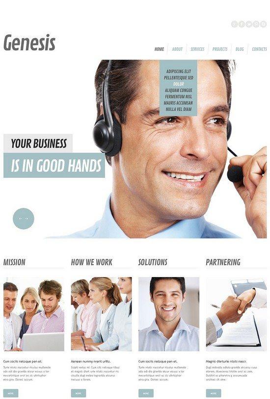 Management Company Responsive WordPress Theme