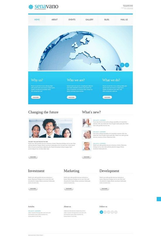 Marketing Services WordPress Theme