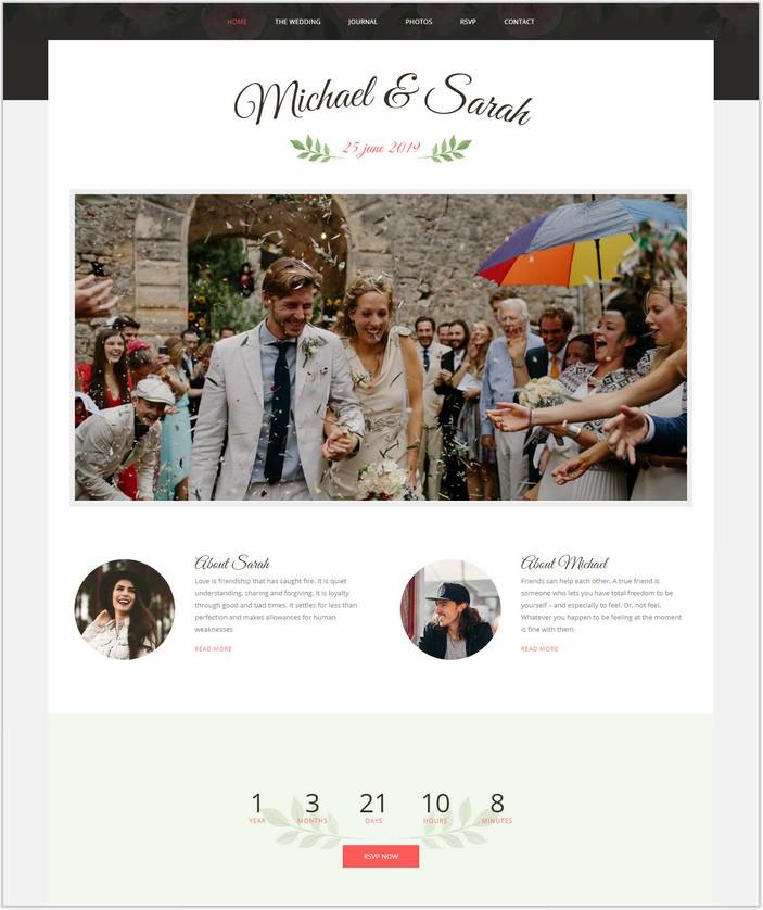 Marriage - Responsive Wedding WordPress PHP Theme