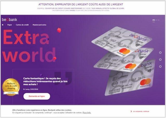Mastercard Extra World
