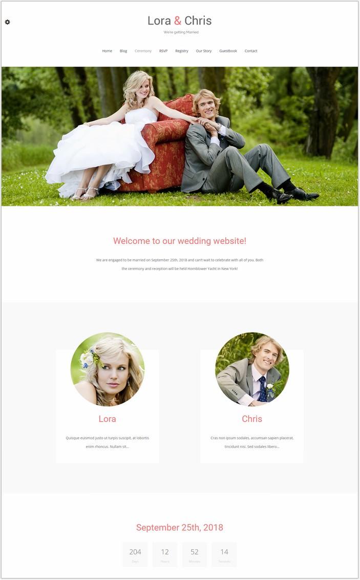 Match – Wedding WordPress PHP Theme