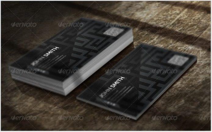 Mazey - Architect Business Card Set